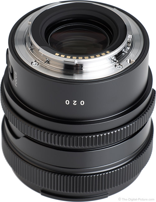 Sigma 35mm f/2 DG DN Contemporary Lens Mount