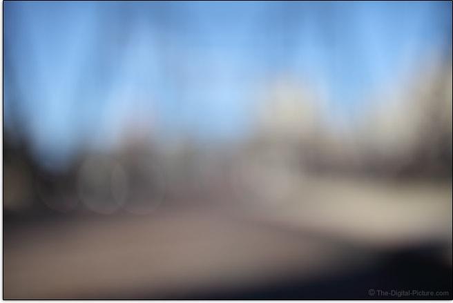 Sigma 40mm f/1.4 DG HSM Art Lens Maximum Blur Example