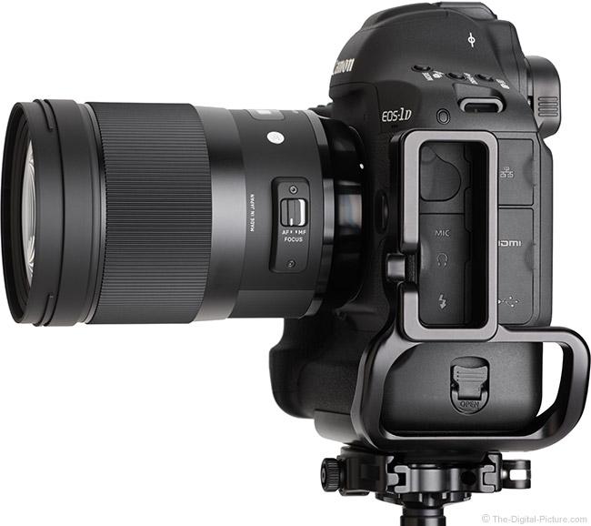 Sigma 40mm f/1.4 DG HSM Art Lens Side View