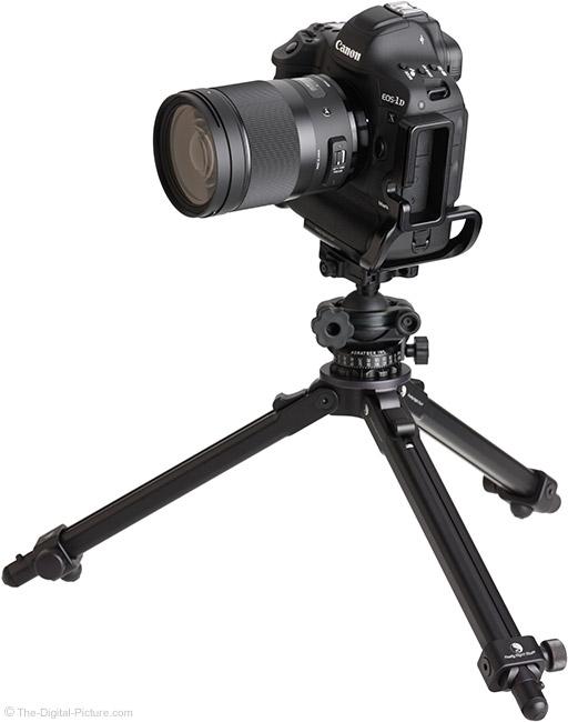 Sigma 40mm f/1.4 DG HSM Art Lens on Tripod