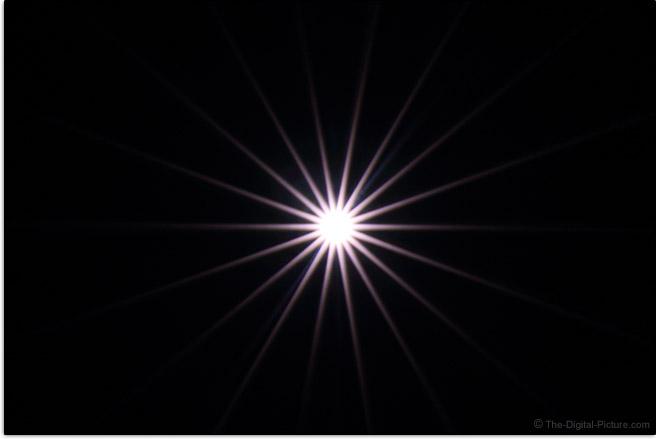 Sigma 40mm f/1.4 DG HSM Art Lens Starburst Effect Example