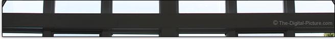 Sigma 50-100mm f/1.8 DC HSM Art Lens Distortion Example
