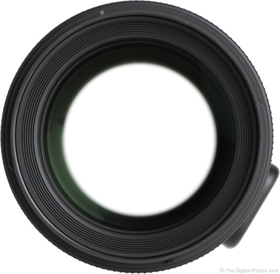 Sigma 50-100mm f/1.8 DC HSM Art Lens Front View
