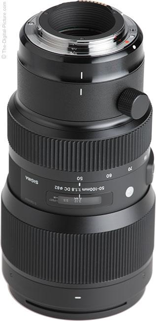 Sigma 50-100mm f/1.8 DC HSM Art Lens Mount