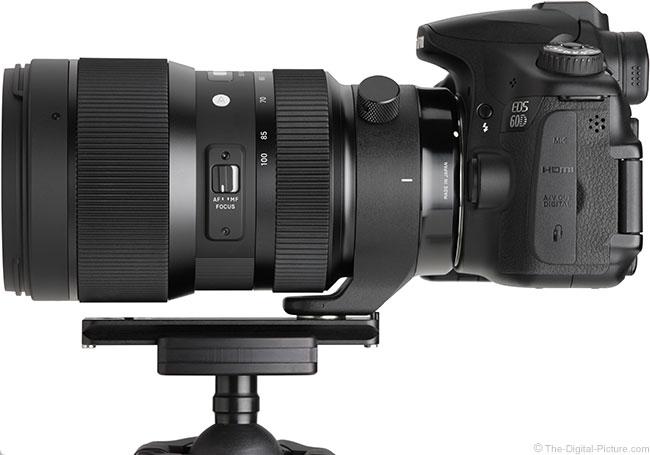 Sigma 50-100mm f/1.8 DC HSM Art Lens Side
