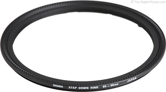Sigma 95mm to 86mm Step Down Ring