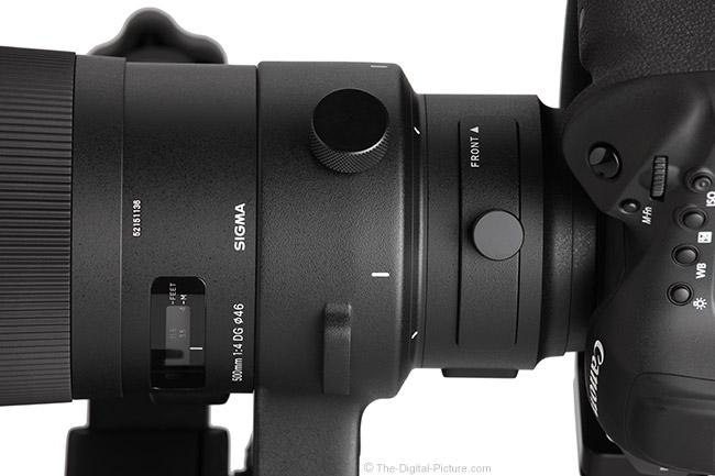 Sigma 500mm f/4 DG OS HSM Sports Lens Filter Holder