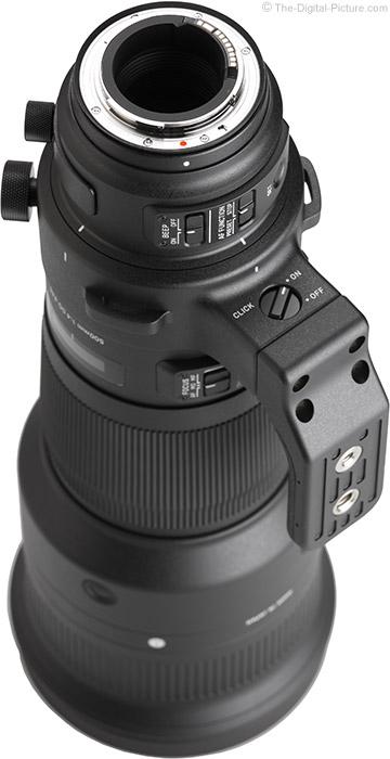 Sigma 500mm f/4 DG OS HSM Sports Lens Mount