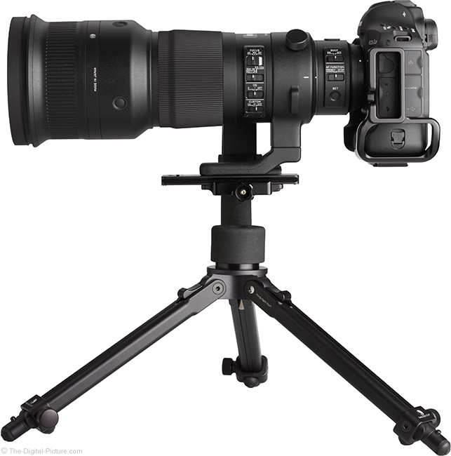 Sigma 500mm f/4 DG OS HSM Sports Lens Side View