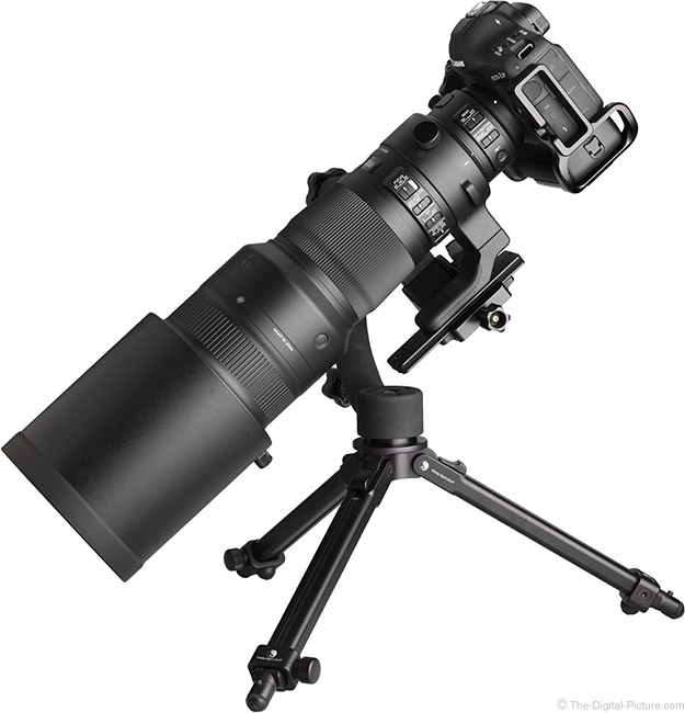 Just Posted: Sigma 500mm f/4 DG OS HSM Sports Lens