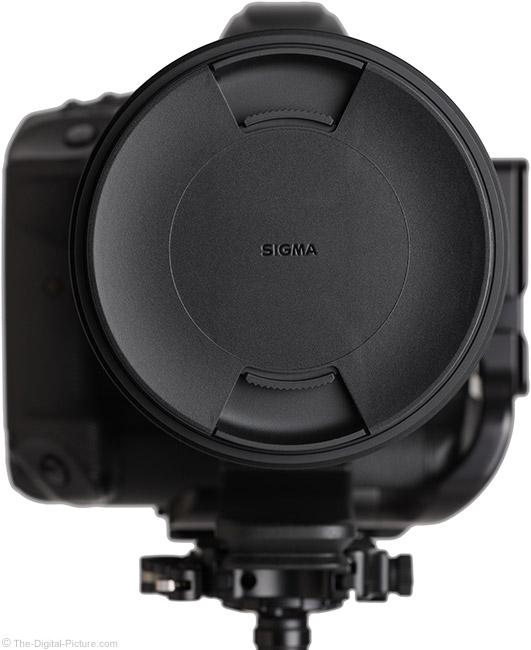 Sigma 60-600mm f/4.5-6.3 DG OS HSM Sports Lens Plastic Cap