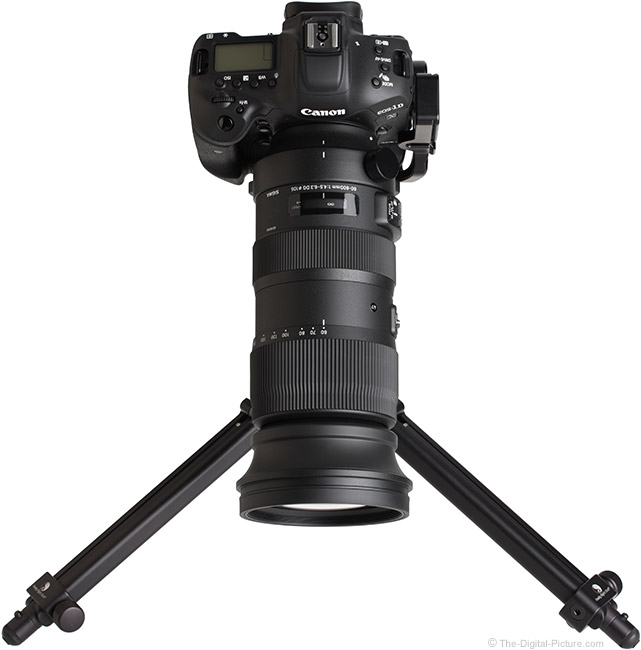 Sigma 60-600mm f/4.5-6.3 DG OS HSM Sports Lens Top View