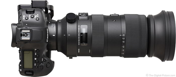 Sigma 60-600mm f/4.5-6.3 DG OS HSM Sports Lens with Teleconverter