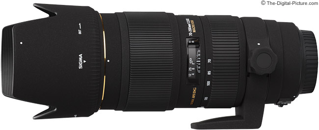 Sigma 70-200mm f/2.8 EX DG HSM II Macro Lens Product Image