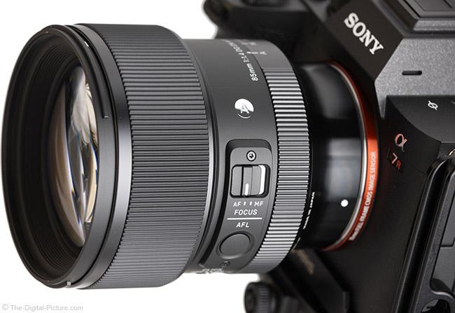 Sigma 85mm f/1.4 DG DN Art Lens Angle View