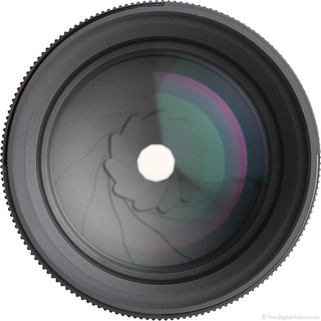 Sigma 85mm f/1.4 DG DN Art Lens Front View