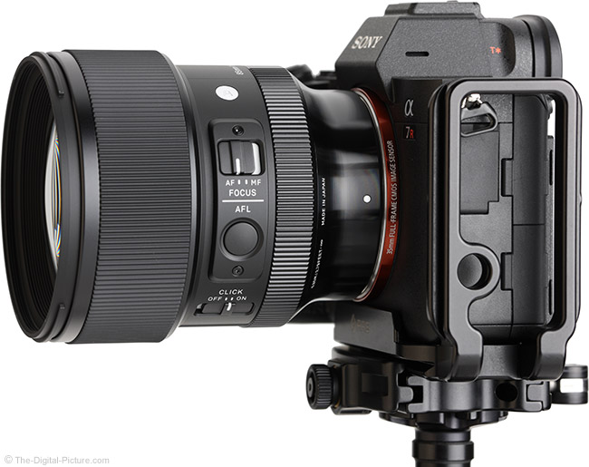 Sigma 85mm f/1.4 DG DN Art Lens Side View