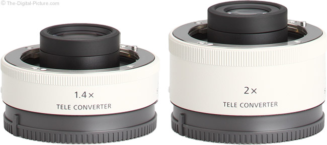 Sony FE 1.4x and 2x Teleconverter Comparison