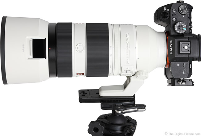 Sony FE 100-400mm GM OSS Lens Hood Window