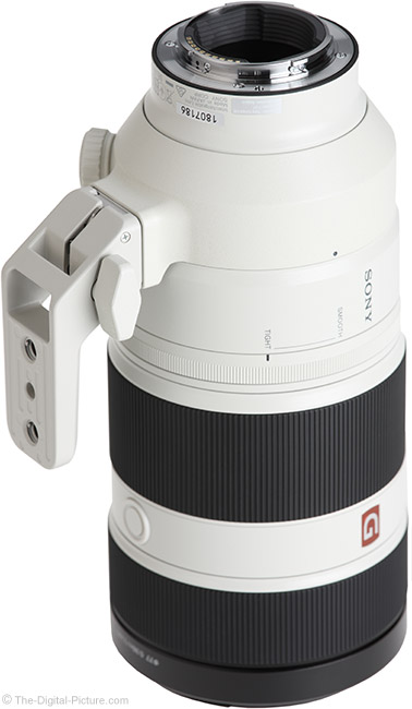 Sony FE 100-400mm GM OSS Lens Mount