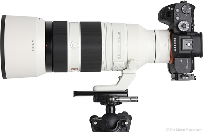 Sony FE 100-400mm GM OSS Lens with Teleconverter