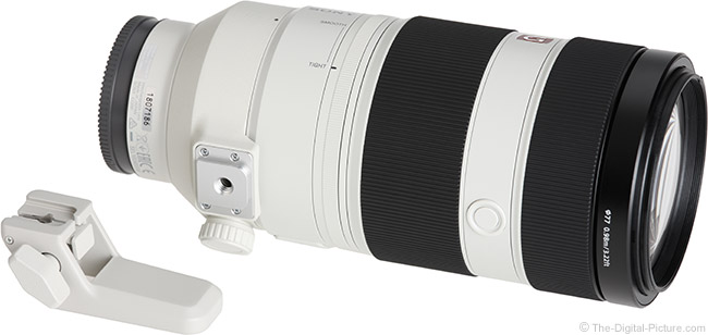 Sony FE 100-400mm GM OSS Lens Foot