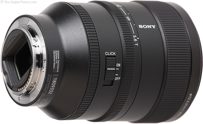 Sony FE 100mm f/2.8 STF GM OSS Lens Mount