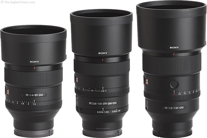 Sony FE GM Lenses