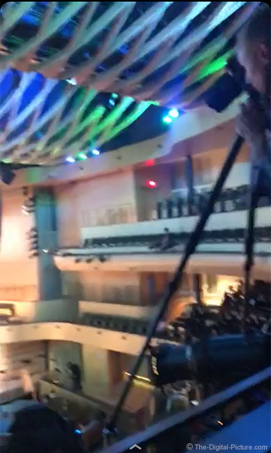 Concert Hall Tripod Position