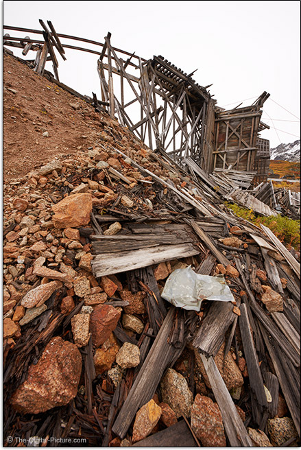 Sony FE 12-24mm f/2.8 GM Lens Old Mine Ruins Sample Picture