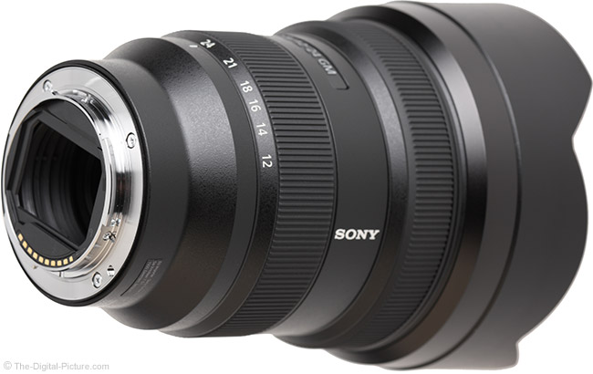 Sony FE 12-24mm f/2.8 GM Lens Mount