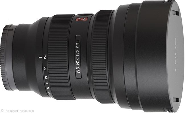 Sony FE 12-24mm f/2.8 GM Lens with Cap