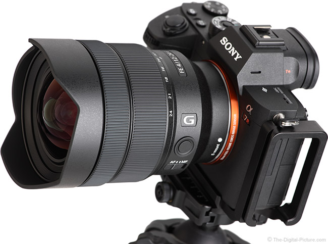 Sony FE 12-24mm f/4 G Lens Angle View