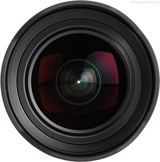 Sony FE 12-24mm f/4 G Lens Front View