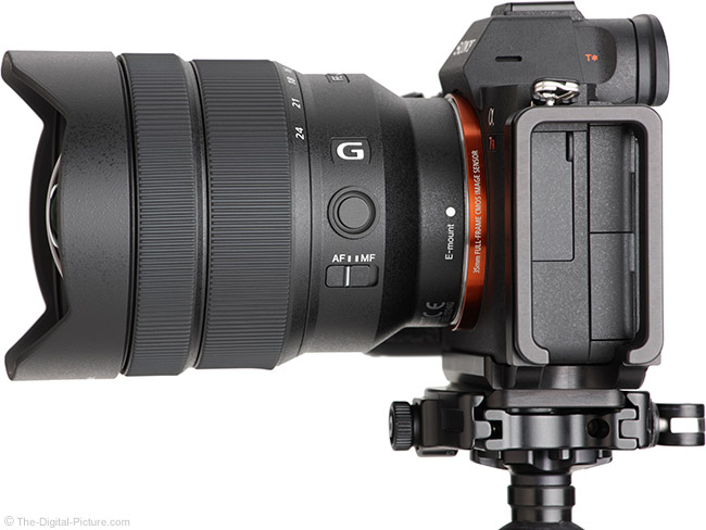 Sony FE 12-24mm f/4 G Lens Side View 2