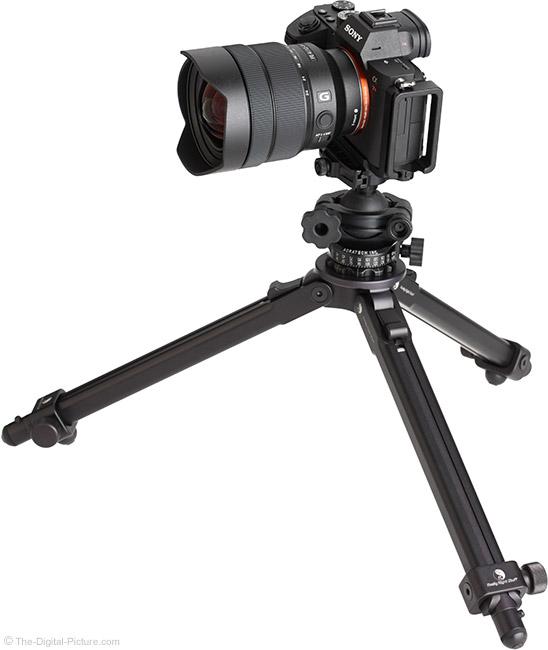 Sony FE 12-24mm f/4 G Lens on Tripod