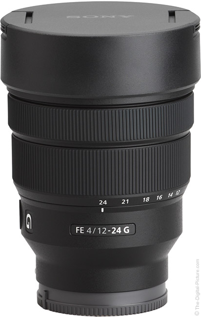 Sony FE 12-24mm f/4 G Lens with Cap