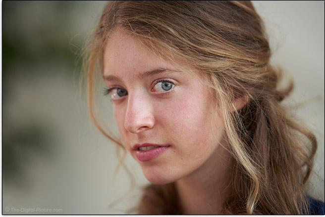 Sony FE 135mm f/1.8 GM Lens Head Shot Portrait Sample Picture