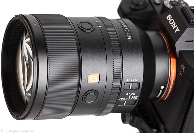 Sony FE 135mm f/1.8 GM Lens Angle Close View