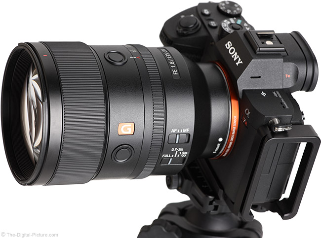 Sony FE 135mm f/1.8 GM Lens Angle View
