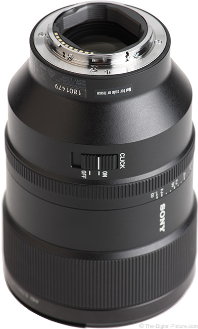 Sony FE 135mm f/1.8 GM Lens Mount