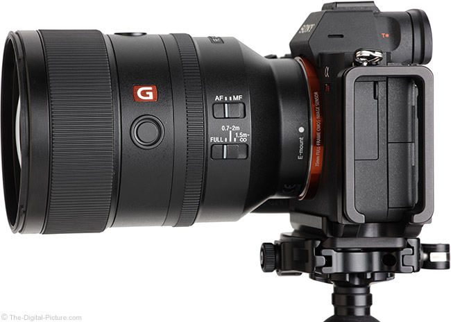 Sony FE 135mm f/1.8 GM Lens Side View