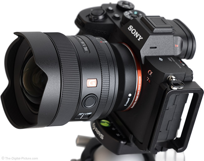 Sony FE 14mm f/1.8 GM Lens Angle View