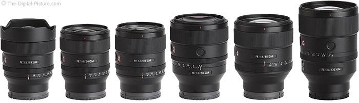 Sony GM Lens Comparison