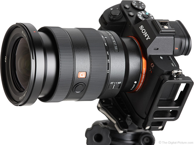Sony FE 16-35mm f/2.8 GM Lens Angle View