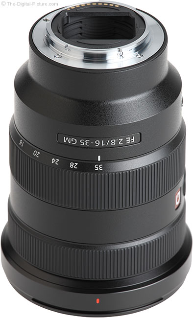 Sony FE 16-35mm f/2.8 GM Lens Mount