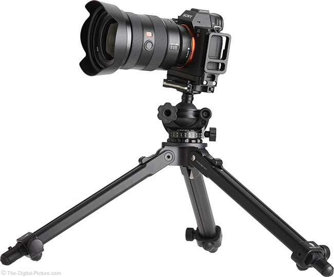 Sony FE 16-35mm f/2.8 GM Lens on Tripod