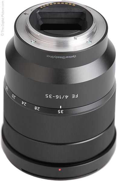 Sony FE 16-35mm f/4 ZA OSS Lens Mount