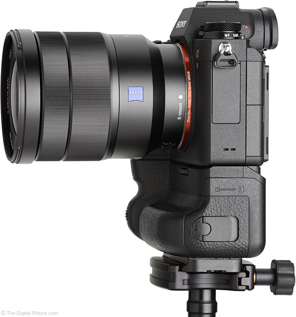 Sony FE 16-35mm f/4 ZA OSS Lens Side View