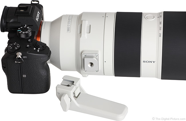 Sony FE 200-600mm f/5.6-6.3 G OSS Lens Foot
